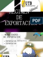 Regimen de Exportacion