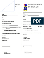 Surat Akuan Rawatan Murid