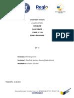 Specificatii Tehnice POMPE