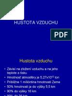 Meteorologia I.2 Hustota
