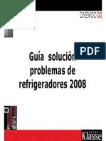 Manual Entrenamiento REFRIGERADOR 2008