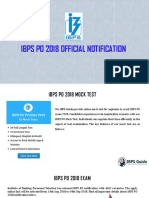 IBPS PO 2018 Official Notification - Get Complete Details
