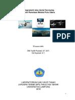 Modul Pengolahan Photo Citra Drone Dengan Agisoftok