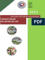 LPJ Tanam Pohon No Water No Life 2013