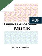 Lebensphilosophie Musik