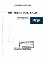 Mis ideas políticas - Charles Maurras