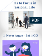 Key to Success in Professional Life