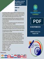 International Seminar - Student Satellite - ITC 2018 Brochure