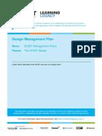 Design Management Plan