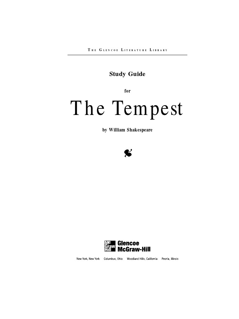 the tempest study guide the tempest william shakespeare rh es scribd com the tempest study guide questions the tempest study guide answer key