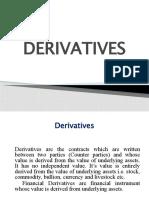 2.1 Derivatives