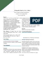 Wells Fargo Del. Trust Co._ N.a. v. Petrov_ 230 So. 3d