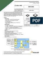 SGTL5000 Datasheet