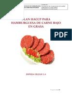 Plan Haccp Deliburger