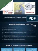 Formas seguras y correctas de utilización.pptx