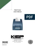 P220 Impact Receipt Printer Manual