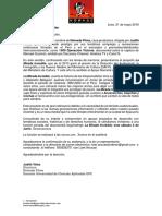 Carta Invitación a La Proyeccion Privada LMI