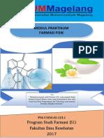 Buku Petunjuk Praktikum Farmasi Fisik