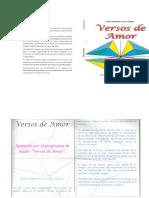 Versos de Amor - Jesus Manuel Locio Lopez - Libro Digital - Portalguarani