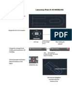 3d Modelling in AutoCAD