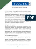 e Fact 26 Dangerous Substances in Horeca