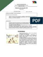 Material de Estudio - Teorema de Pitágoras.