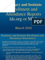 PPT Priesthood Reports Lcr Mls 2016