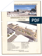 Amenajare Piata Gara Pascani