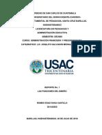 Las Funciones Del Dinero Reporte 1 Lic Joselito.