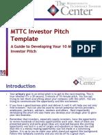 HTT Investor Pitch Template