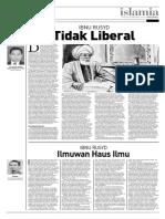 Ibnu Rusyd Tidak Liberal