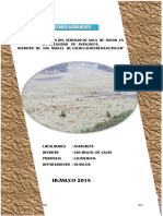 Informe Agrológico Antacolpa 2018