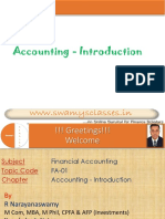 1. Accounting - Introduction