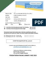 Form-Pendaftaran TemuNas La Ode Saafi