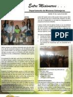 Boletin 152 Informe de La Obra Misionera en Argentina Marzo 15 2010