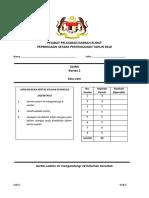 Paper 2 Sains PPT Daerah Kudat Final Draft