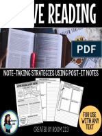 Demo Active Reading With Post It Notes Preview