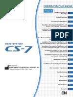 KONICA MINOLTA CS7 Installation & Service Manual (1)