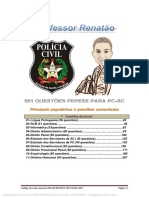 526 Questoes - Fepese - POLÍCIA CIVIL
