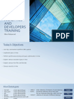 Big Data Analytics and Developers Training Session 10