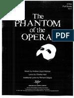 Phantom of the Opera (45 Piece) FS Vol.2