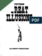 51496691 Magic Fifteen Great Illusions an Abbott Publication Arm