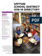 Affton School District Directory 2018-19