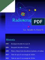 Principios de Radioterapia