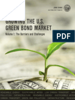 California Growing the U.S. Green Bond Market – Volume 1 Barriers and Challenges Green_bond_market_01