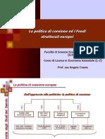 Politica Di Coesione e Fondi Strutturali - UE