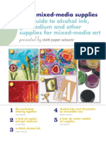 Free Guide to Mixed Media Supplies