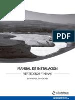 Manual de Instalación de geodren en vertederos y minas