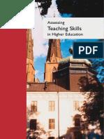 Assessing Teaching Skills