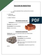 EXTRACCION DE MUESTRAS INFORME GEOLOGIA.docx